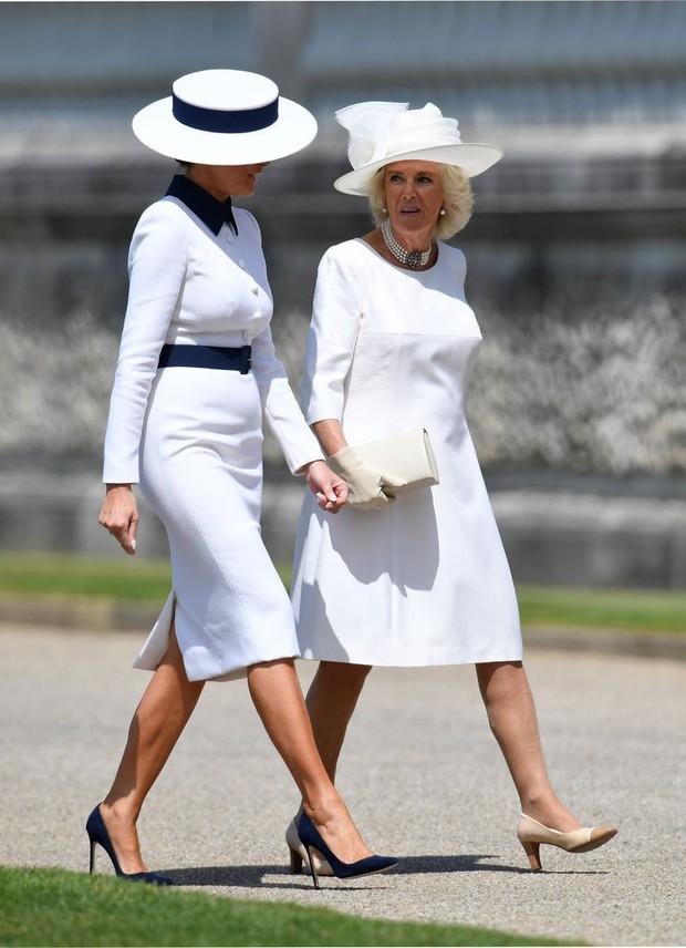 Giật mình với bộ đồ mà Đệ nhất Phu nhân Mỹ chọn khi đi cùng bà Camilla, liệu chúng ta đang nhìn thấy hình ảnh Công nương Diana? - Ảnh 3.