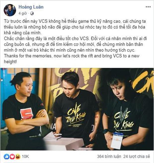 Nhiều bộ não khủng của làng LMHT ngồi ghế huấn luyện, VCS mùa hè 2019 sẽ cực hấp dẫn! - Ảnh 3.