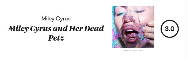 Album mới nhất của Miley Cyrus bị Pitchfork phán xử: thua cả BTS lẫn BlackPink! - Ảnh 3.
