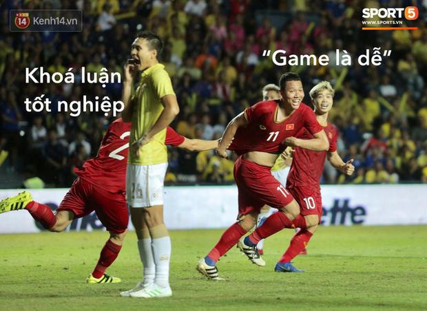 Loạt ảnh chế màn tranh chấp căng thẳng giữa các cầu thủ Việt Nam và Thái Lan: Tưởng không đau mà đau không tưởng - Ảnh 15.