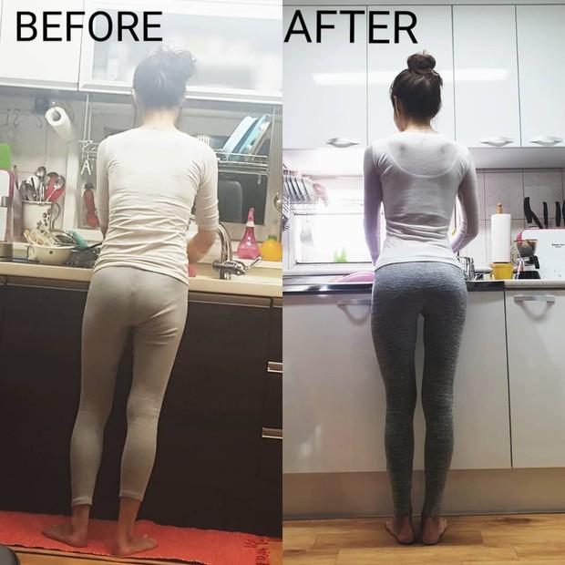Mẹ bỉm sữa 40 tuổi xứ Hàn gây choáng vì màn Before - After khiến gái đôi mươi cũng phải hâm mộ - Ảnh 5.