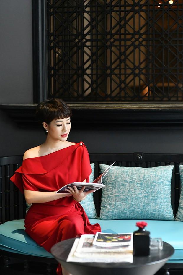 Cô vợ nghiện ăn pate của anh Thành (Về nhà đi con): Ngoài đời là CEO xinh đẹp và sang chảnh y hệt trong phim - Ảnh 2.