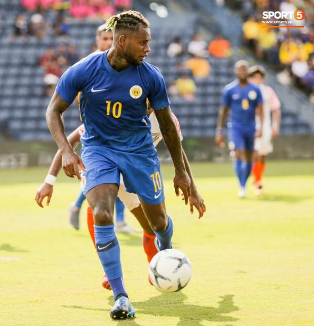Tuyển thủ Curacao có giá trị bằng 2 đội hình tuyển Việt Nam, sở hữu kiểu đầu chất nhất Kings Cup 2019 - Ảnh 4.