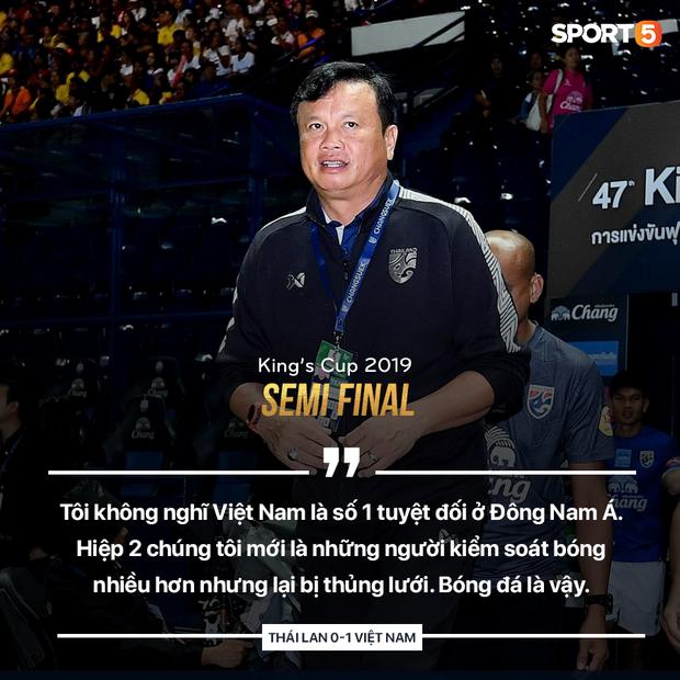 HLV Thái Lan phát biểu sau trận thua: Tôi không nghĩ Việt Nam là số 1 Đông Nam Á - Ảnh 1.