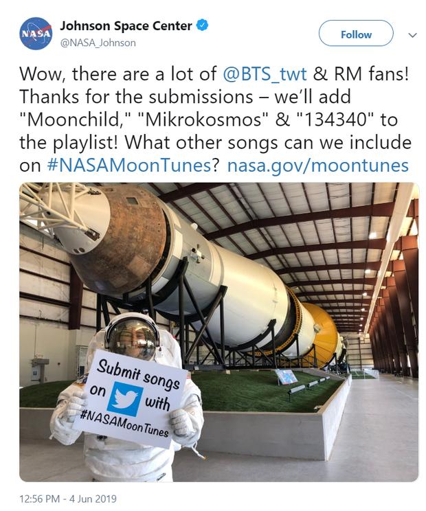 Hết tung hoành ở Trái đất, BTS còn sắp trở thành siêu sao vũ trụ xâm lấn cả... Mặt trăng? - Ảnh 1.