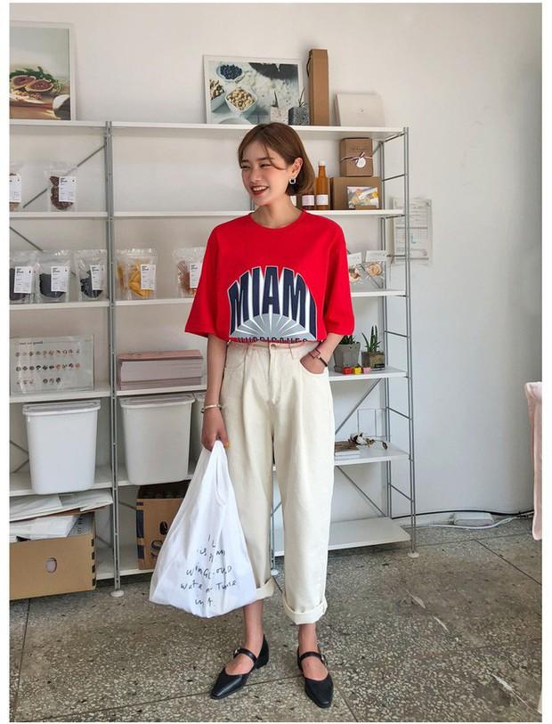 2 kiểu áo phông đơn giản, mặc lên dễ đẹp để các nàng luôn trẻ trung trong mắt đồng nghiệp - Ảnh 8.