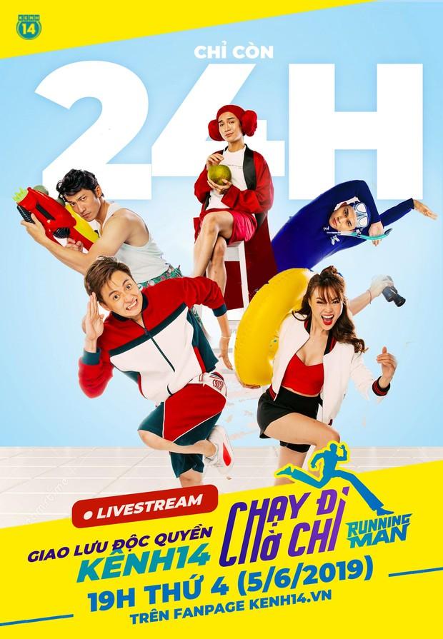 Còn chưa đầy 24h, dàn sao Running Man sẽ đại náo buổi livestream độc quyền trên Kênh14! - Ảnh 1.