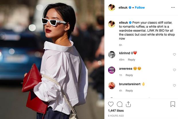 Được hẳn Elle UK đem ra làm minh chứng cho việc mặc đẹp, thẩm mỹ của Khánh Linh quả không tầm thường - Ảnh 2.