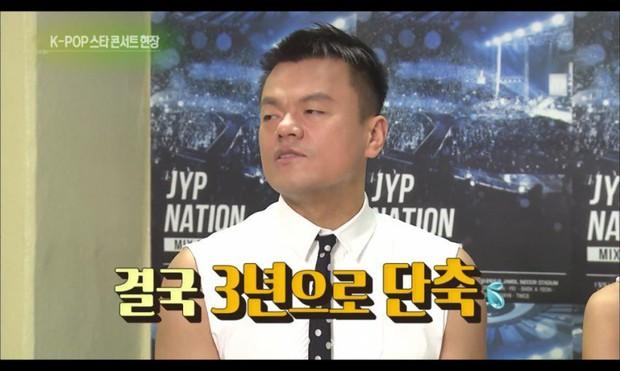Vô lý như JYP: Gà nhà muốn hẹn hò thì phải lấp đầy 10.000 chỗ trong concert - Ảnh 6.