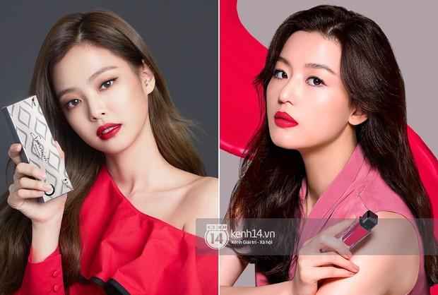 Từng bị chê thua kém Jeon Ji Hyun, nay Jennie đã chứng minh đẳng cấp khi đem lại doanh thu khủng cho hãng mỹ phẩm Hàn - Ảnh 2.