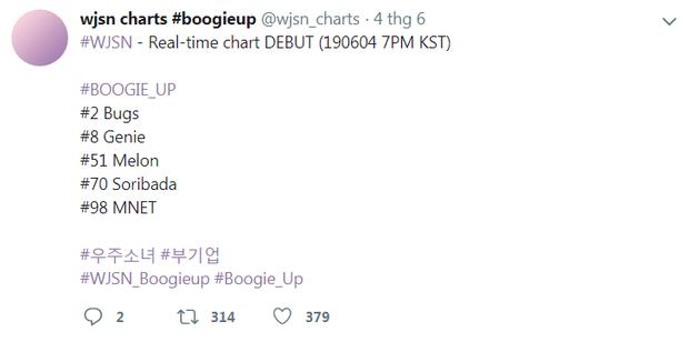 Nghi vấn WJSN gian lận, nhảy cóc 100 bậc vượt Lee Hi, BTS tại BXH ở Hàn, đại diện trang nghe nhạc nói gì? - Ảnh 2.