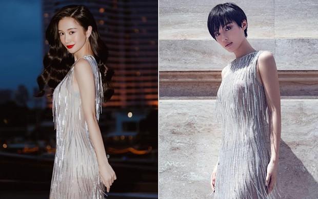 Cùng 1 chiếc đầm: Jun Vũ sở hữu nhan sắc nữ thần nhưng đỉnh cao tinh tế lại là Khánh Linh - Ảnh 6.