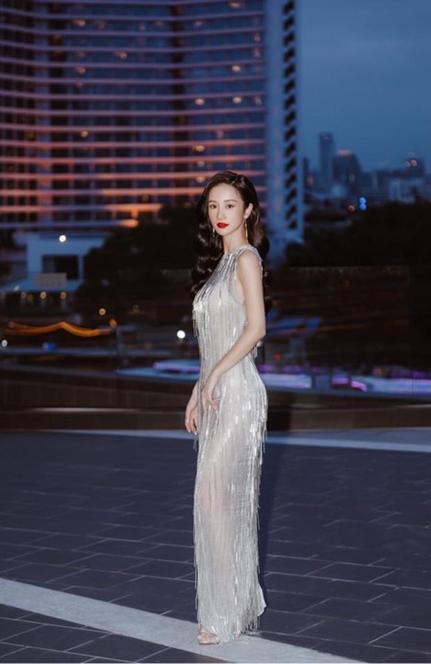 Cùng 1 chiếc đầm: Jun Vũ sở hữu nhan sắc nữ thần nhưng đỉnh cao tinh tế lại là Khánh Linh - Ảnh 2.