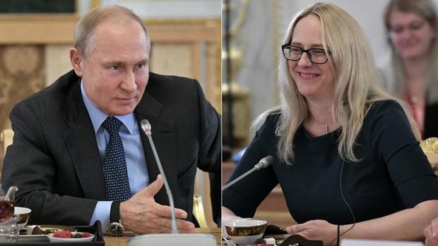 Nữ nhà báo Mỹ thách đấu quyền anh, Tổng thống Putin đáp trả bất ngờ - Ảnh 1.