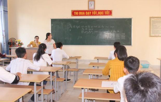 Nghệ An: 7 thí sinh vi phạm quy chế thi tuyển sinh vào lớp 10 - Ảnh 1.
