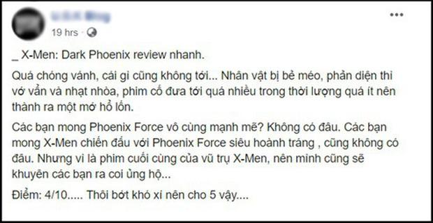 Fan X-Men phẫn nộ vì Dark Phoenix phá nát đế chế dị nhân 20 năm theo cách không thể hiểu nổi - Ảnh 3.