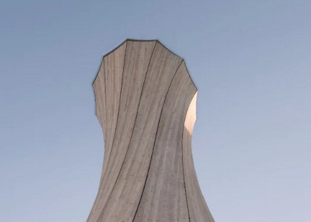 Độc đáo tòa tháp hình xoắn ốc được làm từ gỗ đầu tiên trên thế giới, không cong vênh, bền chắc không kém bê tông - Ảnh 6.