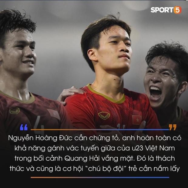 Những ẩn số ở U23 cần chứng minh bóng đá Việt Nam không chỉ có Quang Hải hay Văn Hậu - Ảnh 1.