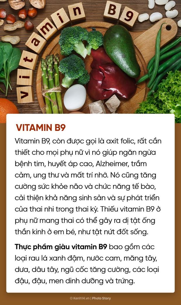 Hội chị em muốn xinh đẹp, khoẻ mạnh, thông minh đừng quên bổ sung đủ 10 loại vitamin này - Ảnh 13.
