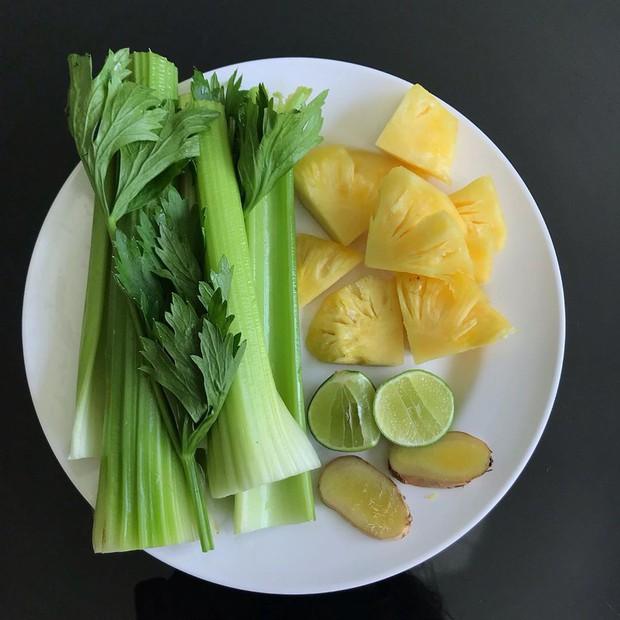 Học lỏm 2 công thức mix nước ép cần tây từ bạn gái Lâm Tây - Yến Xuân, nguyên liệu có đủ trong bếp nhà bạn - Ảnh 6.