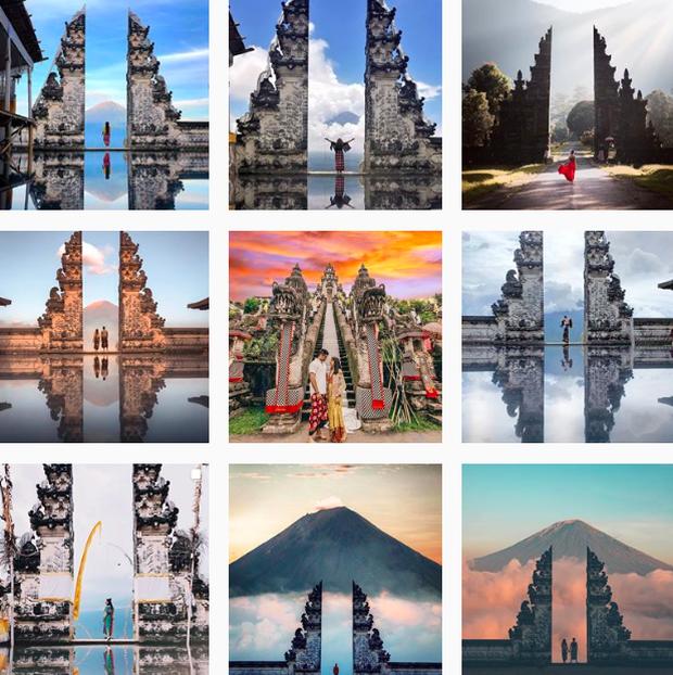 """""""Cổng trời Bali"""" mới xuất hiện ở Đà Lạt gây tranh cãi vì lạc quẻ, ảnh thì bị chỉnh """"lố"""" như sang tận Disneyland - Ảnh 1."""