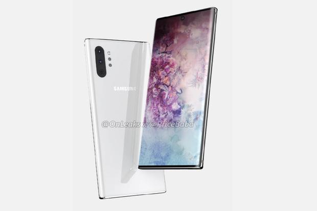 Đây là Galaxy Note 10 Pro: màn hình lớn cực đại, camera selfie chính giữa, 4 camera sau xếp dọc - Ảnh 1.