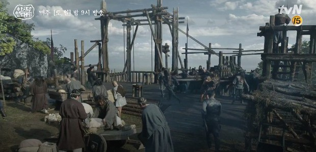 Song Joong Ki liều mình chui vào hang cọp cứu crush trong tập 3 Niên Sử Kí Arthdal - Ảnh 3.