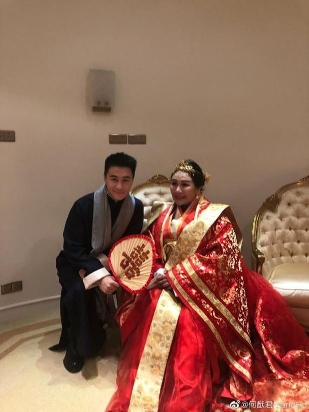Choáng với sính lễ toàn vàng ròng trong đám cưới con gái 'vua sòng bạc Macau' - Ảnh 7.