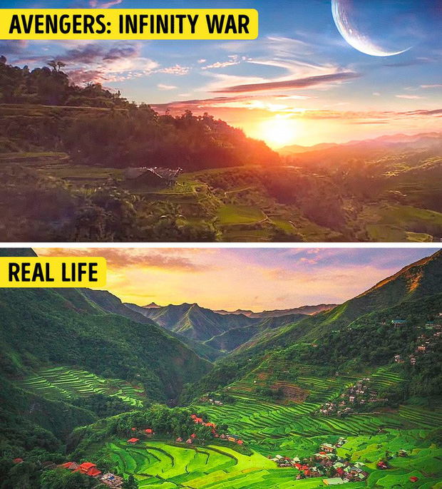 14 cảnh đẹp trong phim hoá ra có ngoài đời thực, riêng Infinity War và Avatar sẽ khiến bạn ngạc nhiên nhất - Ảnh 2.