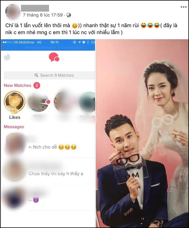 Cô gái kiếm được chồng nhờ 1 lần quẹt phải trên Tinder: Quyết định cưới nhau sau 3 tháng hẹn hò - Ảnh 1.