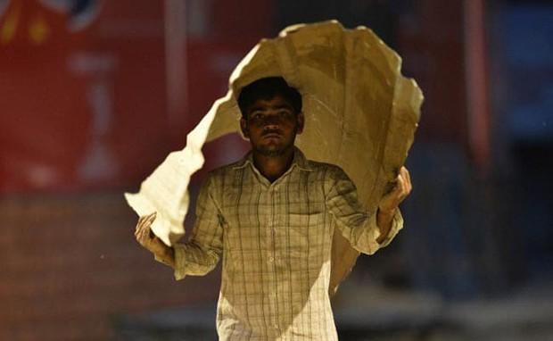 Nắng nóng gay gắt ở Ấn Độ: Đâm chết nhau vì tranh nước, hổ bỏ rừng vào làng tìm nguồn nước - Ảnh 1.