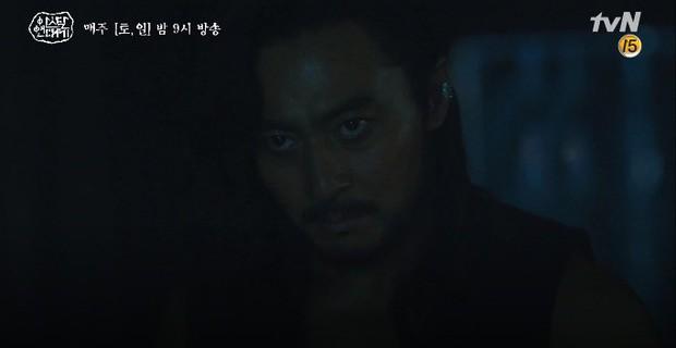Kim Ji Won bùng nổ diễn xuất: Tự cắn đứt tay rồi bôi máu lên mắt, triệu hồi sói thần ngay tập 4 Niên Sử Kí Arthdal! - Ảnh 18.