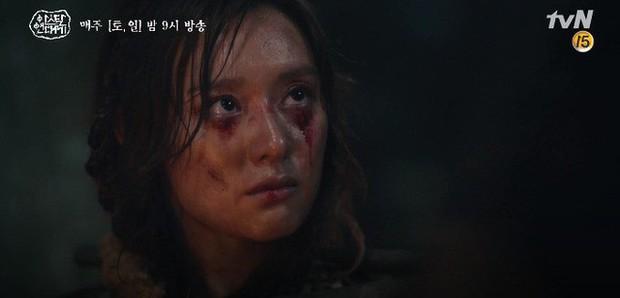 Kim Ji Won bùng nổ diễn xuất: Tự cắn đứt tay rồi bôi máu lên mắt, triệu hồi sói thần ngay tập 4 Niên Sử Kí Arthdal! - Ảnh 8.