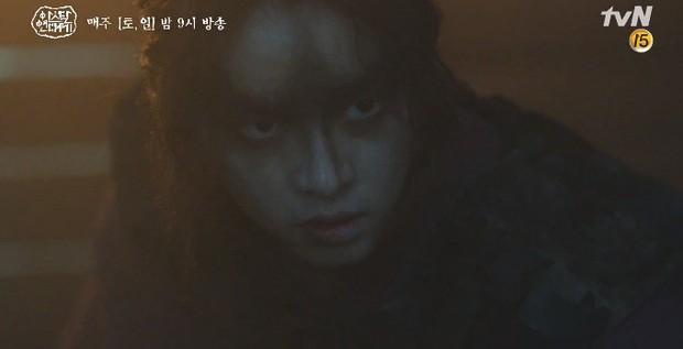 Kim Ji Won bùng nổ diễn xuất: Tự cắn đứt tay rồi bôi máu lên mắt, triệu hồi sói thần ngay tập 4 Niên Sử Kí Arthdal! - Ảnh 19.