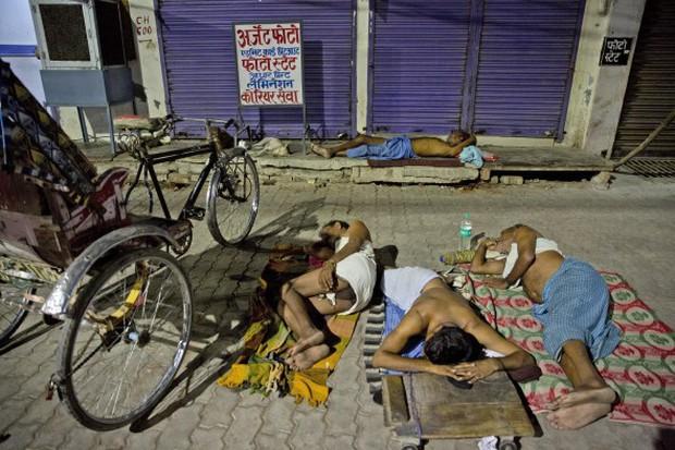 Nắng nóng gay gắt ở Ấn Độ: Đâm chết nhau vì tranh nước, hổ bỏ rừng vào làng tìm nguồn nước - Ảnh 6.
