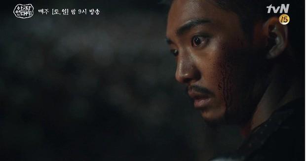 Kim Ji Won bùng nổ diễn xuất: Tự cắn đứt tay rồi bôi máu lên mắt, triệu hồi sói thần ngay tập 4 Niên Sử Kí Arthdal! - Ảnh 5.