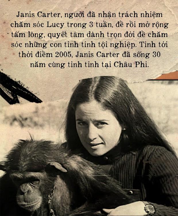 Câu chuyện đau lòng về Lucy, con tinh tinh vẫn tưởng mình là người - Ảnh 5.