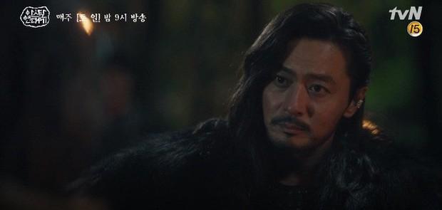 Kim Ji Won bùng nổ diễn xuất: Tự cắn đứt tay rồi bôi máu lên mắt, triệu hồi sói thần ngay tập 4 Niên Sử Kí Arthdal! - Ảnh 7.