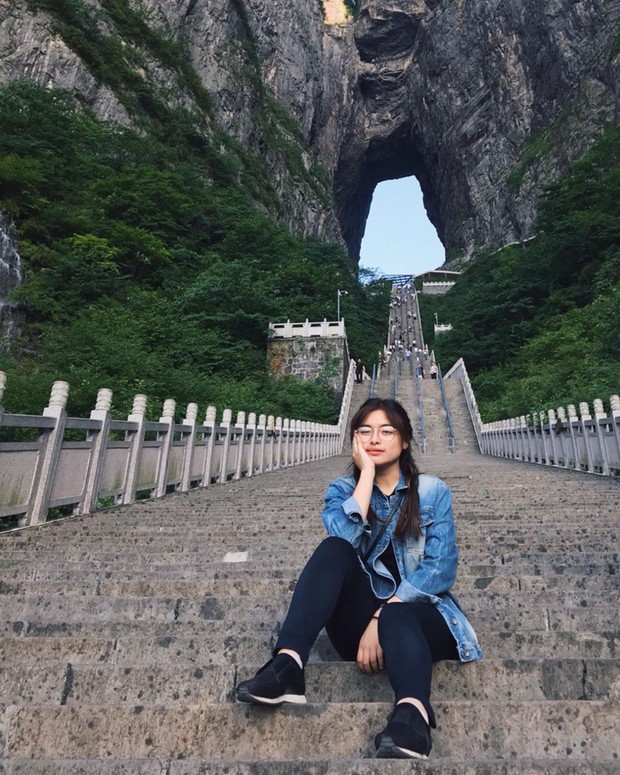 Thiên Môn Sơn - Đường lên cổng trời ở Trung Quốc khiến hội yếu tim phải khóc thét với 99 khúc cua dựng đứng - Ảnh 12.
