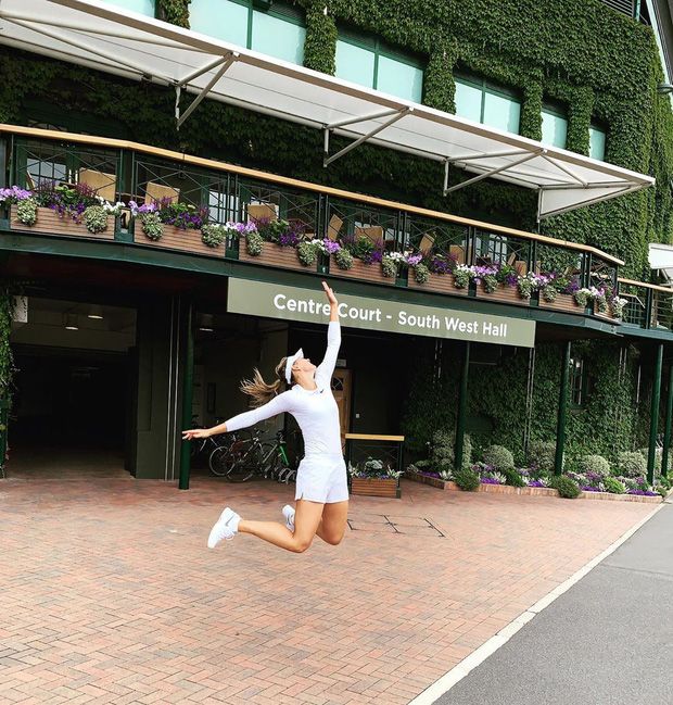 Sau khi những bức hình thảm họa lên sóng, nhan sắc của búp bê Sharapova đã được minh oan nhờ bộ hình tươi rói này - Ảnh 8.