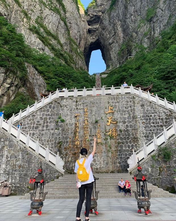 Thiên Môn Sơn - Đường lên cổng trời ở Trung Quốc khiến hội yếu tim phải khóc thét với 99 khúc cua dựng đứng - Ảnh 13.