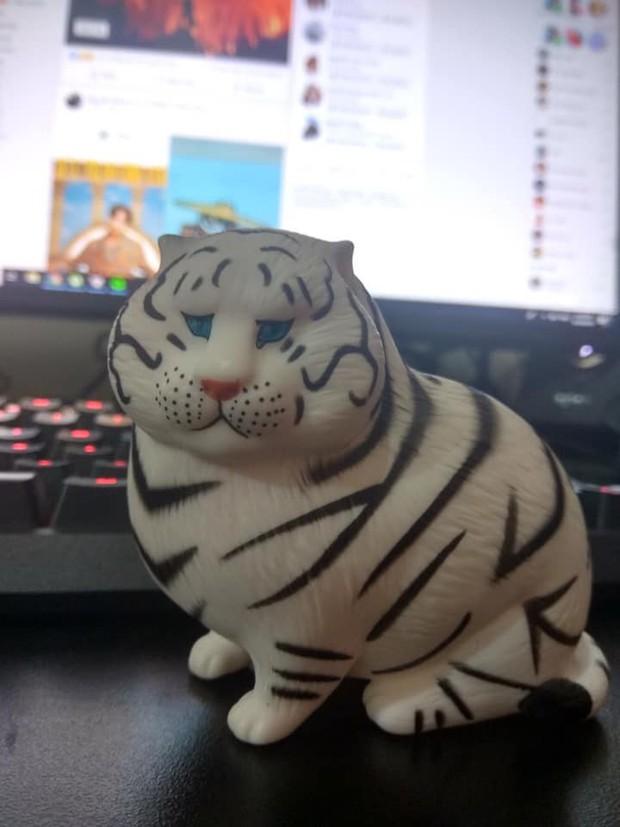 Bi hài chuyện mua hàng online: Đặt mua hổ bông lông trắng nhưng nhận về chú hổ béo mũm, tròn xoe với gương mặt hờn cả thế giới - Ảnh 2.
