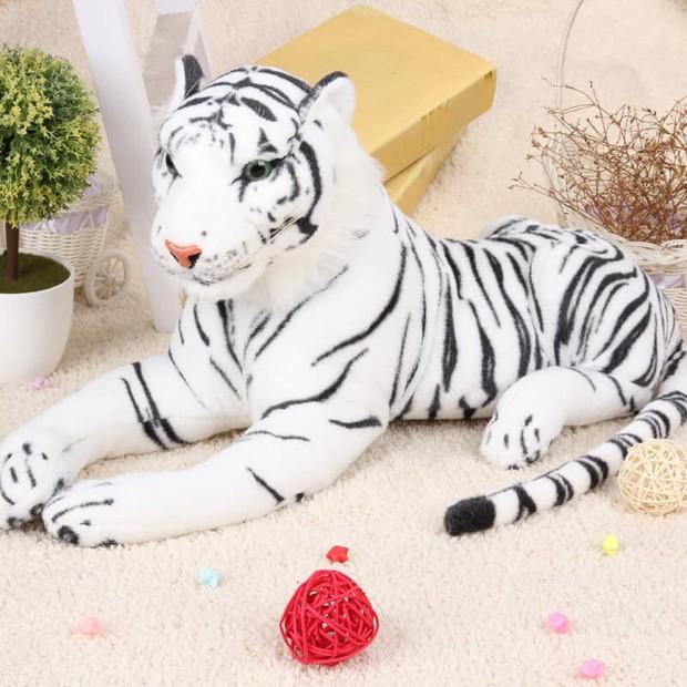 Bi hài chuyện mua hàng online: Đặt mua hổ bông lông trắng nhưng nhận về chú hổ béo mũm, tròn xoe với gương mặt hờn cả thế giới - Ảnh 1.