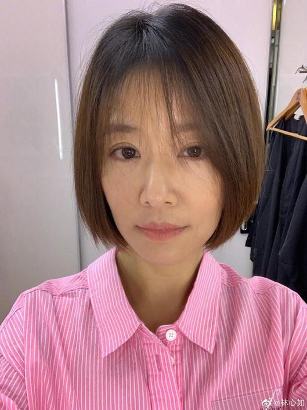 Style thì sến nhưng Lâm Tâm Như vẫn hack tuổi tài tình nhờ kiểu tóc như nữ sinh - Ảnh 1.