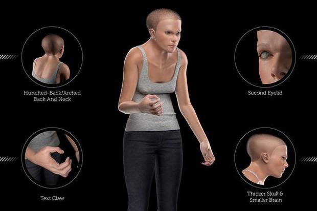Sốc với hình mẫu con người nghiện công nghệ của năm 2100: Cổ rụt, lưng gù, tay còng, mọc thêm mí mắt - Ảnh 1.