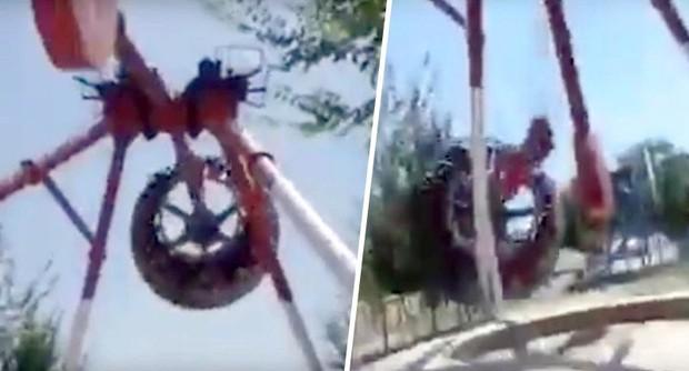 Cảnh tượng ám ảnh những ai thích trò chơi mạo hiểm: Đu quay 360 độ đột ngột rơi xuống đất, thiếu nữ 19 tuổi tử vong ngay tại chỗ - Ảnh 2.