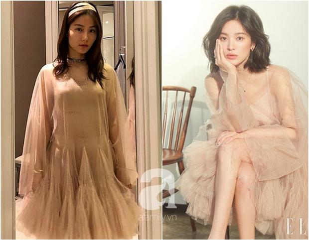 Đụng váy Dior: Song Hye Kyo thần thái xuất hiện trên tạp chí khi mới lục đục hôn nhân, Diễm My 9x kém sắc hơn hẳn - Ảnh 5.