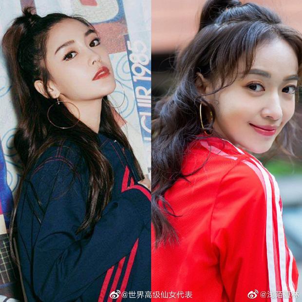 Netizen thu thập chứng cứ tố Ngô Cẩn Ngôn cosplay Angela Baby, gọi cô là bản fake kém chất lượng - Ảnh 3.