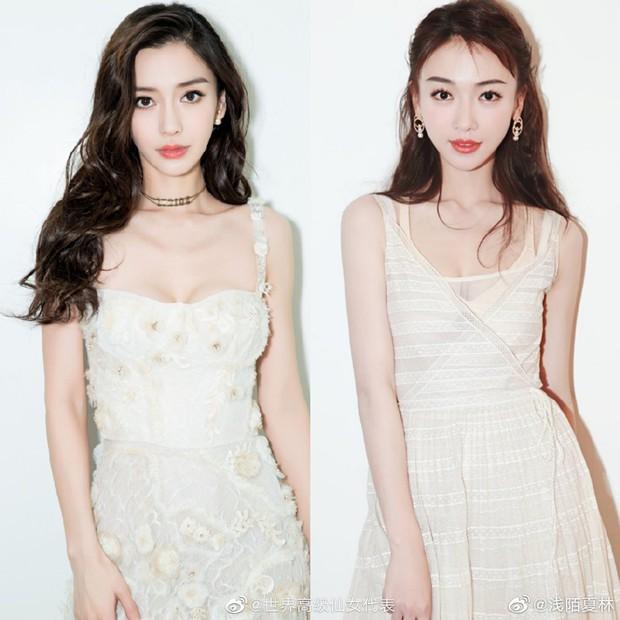 Netizen thu thập chứng cứ tố Ngô Cẩn Ngôn cosplay Angela Baby, gọi cô là bản fake kém chất lượng - Ảnh 2.