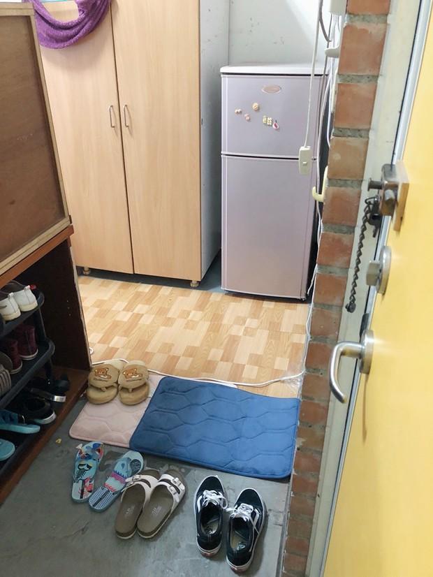 Kí túc xá giá rẻ như nhà kho, 3 cô gái hợp sức cải tạo thành căn homestay nhìn là muốn xin ở chung - Ảnh 4.
